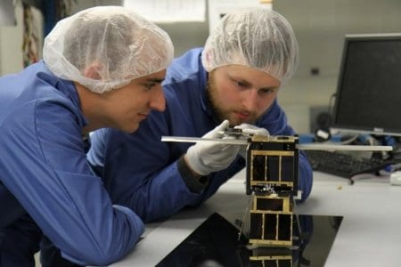 Romania has launched plans to produce two nano-satellites in orbit around the earth
