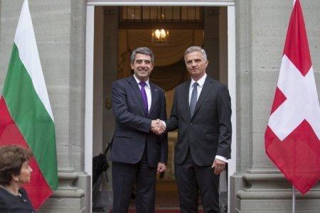 Bulgarian President in Switzerland to discuss Bulgarian-Swiss Education