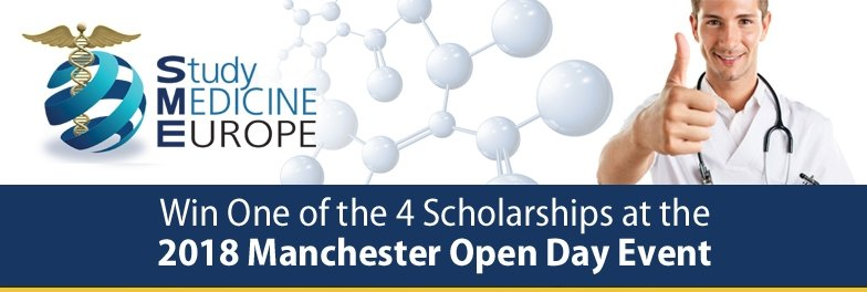 Win Tuition Fee Scholarships at the Manchester Open Day