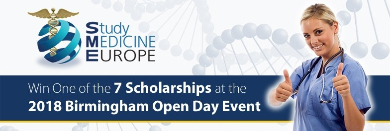 Tuition Fee Scholarships offered at the Birmingham Open Day