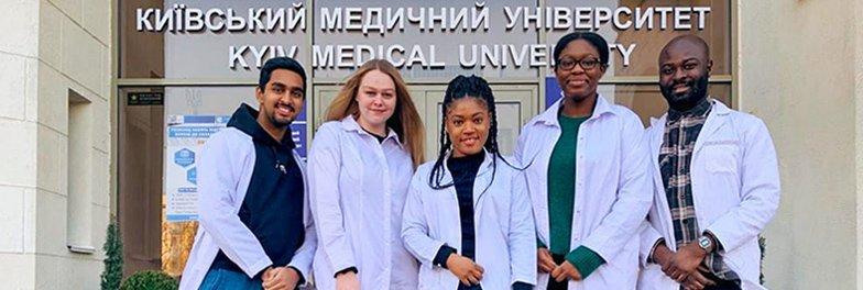 Students settle in Kiev for Medical Studies