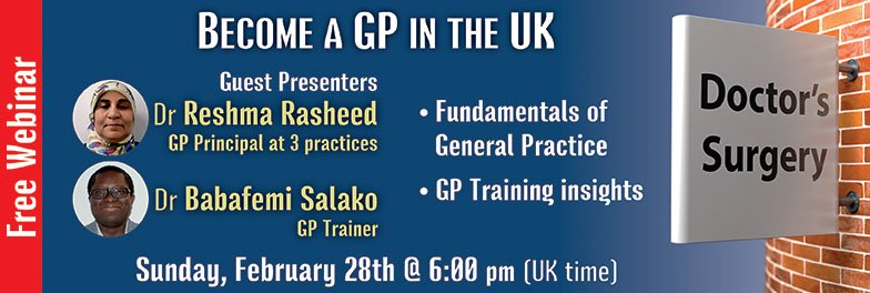 Become a GP in the UK