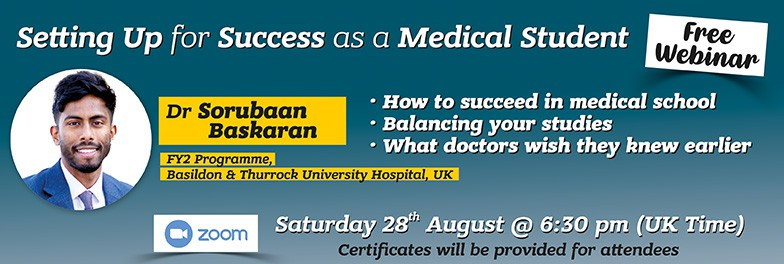 Setting Up for Success as a Medical Student